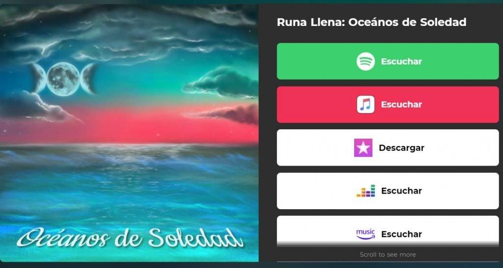 Oceanos de Soledad runa Llena Official